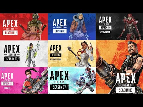 Apex Legends Season 1-8 All Cinematic Story s | HD - MR. NOVA