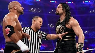 Wwe superstar roman Reigns vs Triple H