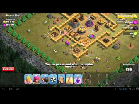 Clash of Clans Choose Wisely 3 Star Campaign Guide: TH7 Mission