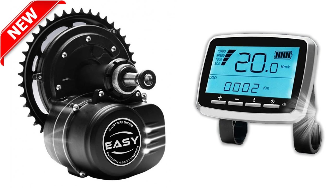 Sartori Bikes EASY High Torque | KIT di conversione bici elettrica |  Electric bike conversion KIT