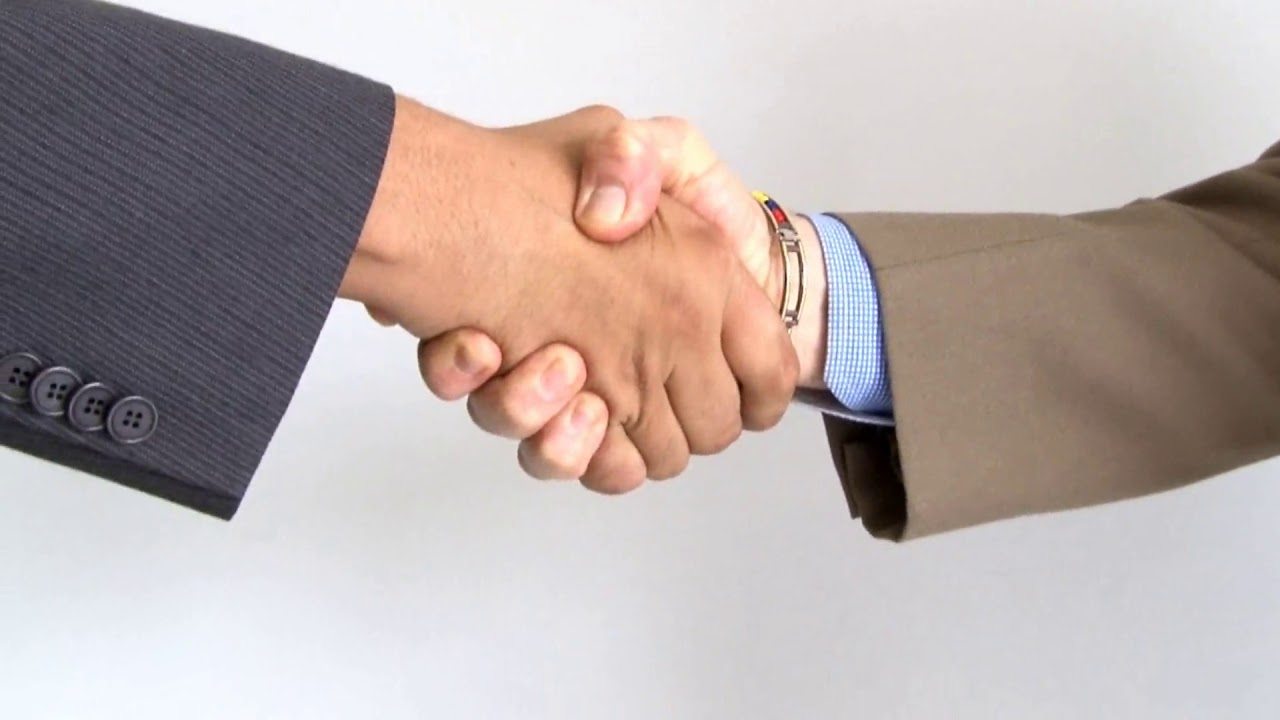 Business Handshake| Free HD Stock Footage - YouTube