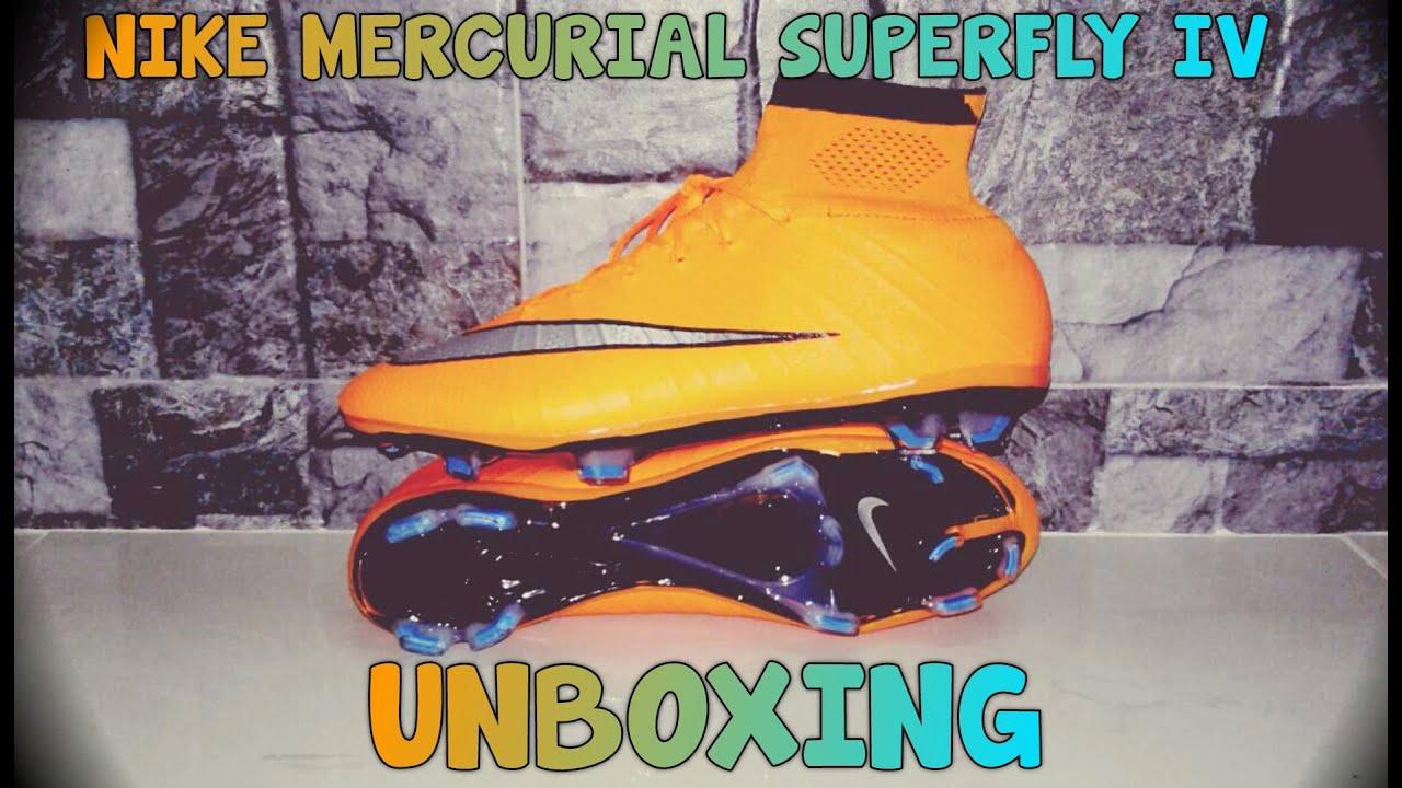 competitive price 19981 e6ca3 ... czech nike mercurial superfly 4 bright mango unboxing replica 25b09  35029