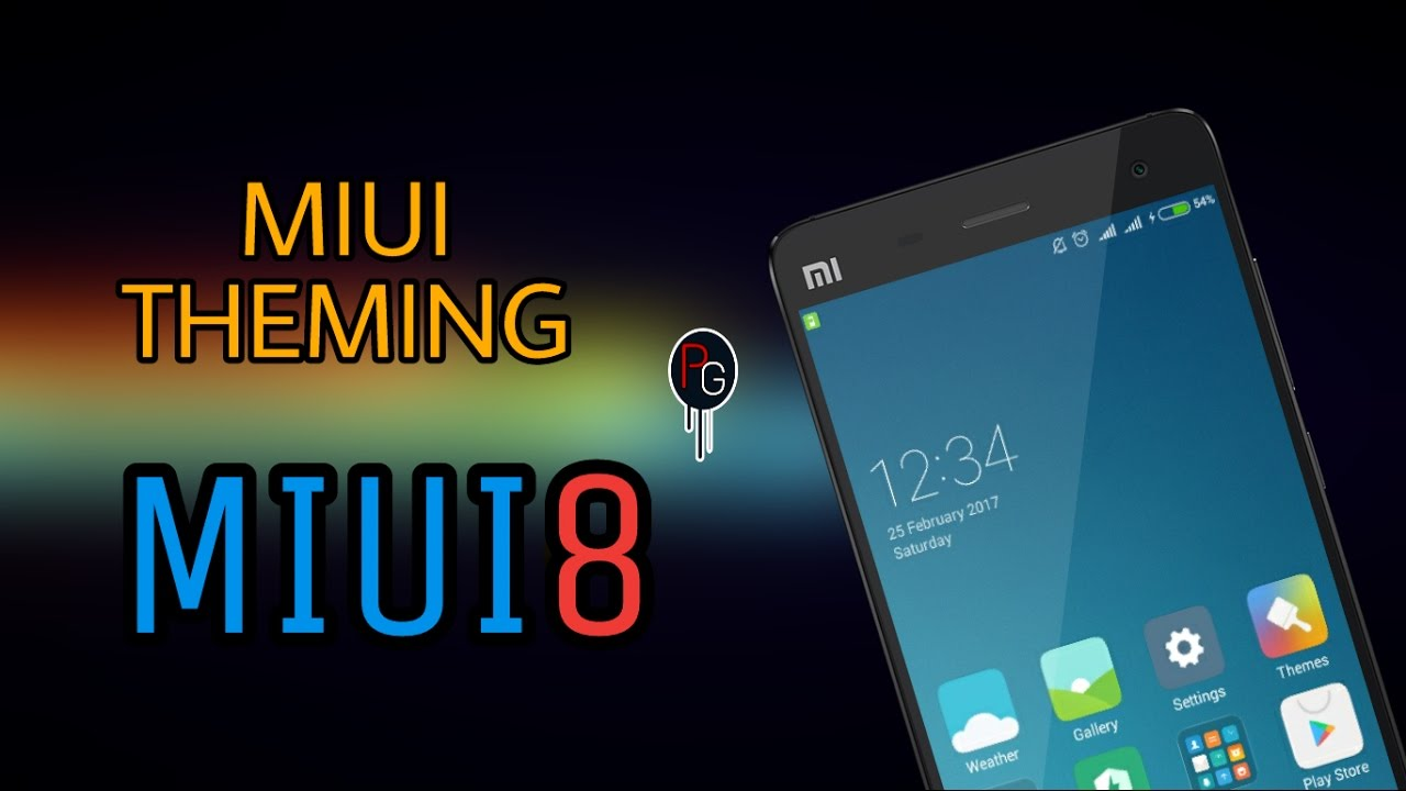How To Theme Miui Roms-MIUI8 || Without Theme Editor Tool