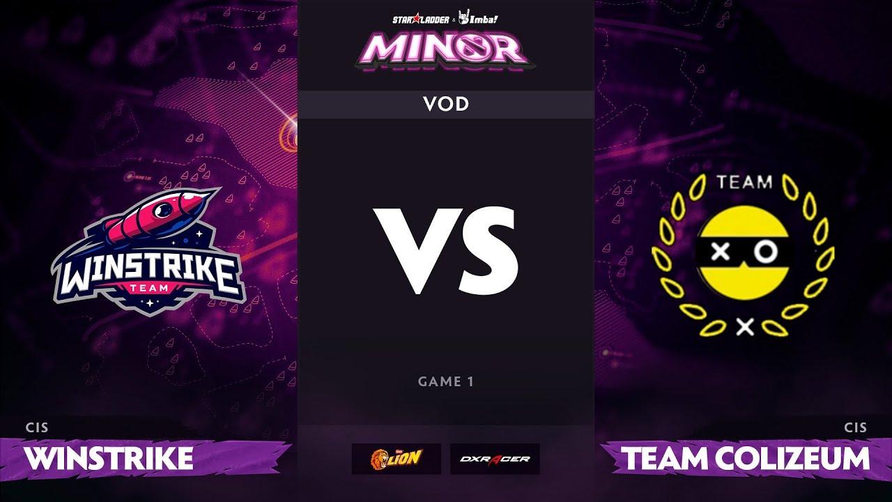 [RU] Winstrike vs Team Colizeum, Game 1, StarLadder ImbaTV Minor S2 CIS Qualifiers