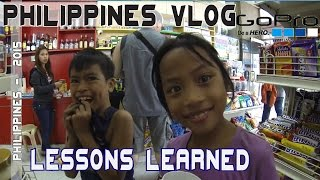 Manila Philippines Lessons Learned | VLOG