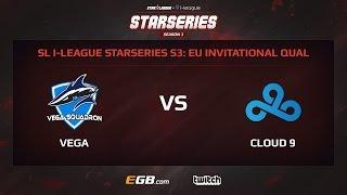 Vega Squadron vs Cloud 9, Game 1, SL i-League StarSeries Season 3, EU