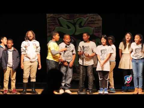 Tubman Elementary School performs at 2016 Poetry Slam!