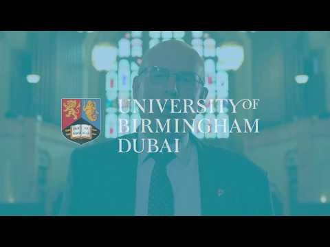 University of Birmingham Dubai - Professor Sir David Eastwood Vice-Chancellor Welcome