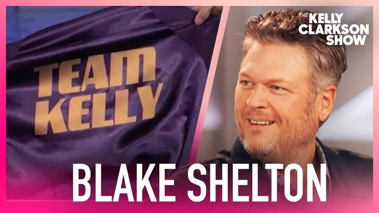 Blake Shelton Lied About Wearing His 'Team Kelly' Jacket