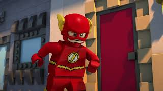 LEGO DC Super Heroes: The Flash Clip - The Flash Starts His Day