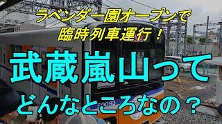 【行先探訪82】激レア行先「武蔵嵐山」ってどんなところなのかレポートします!