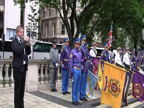 Passchendaele Parade At Belfast City Hall