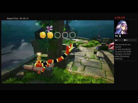 Snake Pass - Gameplay (PS4 Pro) - Part 1