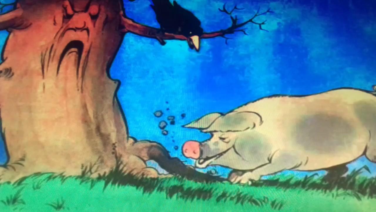 самые иллюстрация свинья под дубом рисунки положила специальные