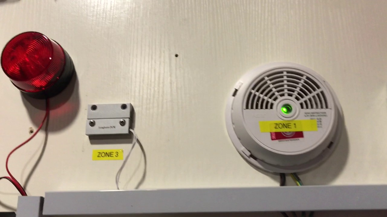 Hikvision Intercom Alarm Output Test Youtube Smoke Wiring Diagram Uk