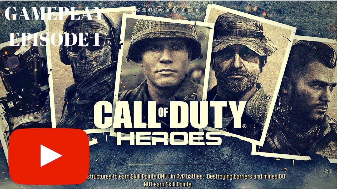 Call of Duty: Heroes Gameplay PART 1 (Android / iOS)