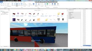 Roblox How to make a bus