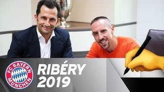 Franck Ribéry signs new contract until 2019!