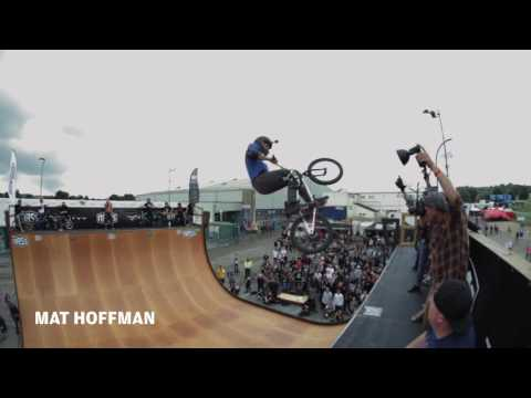 Mat Hoffman & Friends BMX demo at NASS Festival 2016