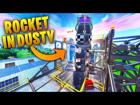 New *ROCKET* In Dusty Depot!! | Fortnite Funny and Best Moments Ep.589