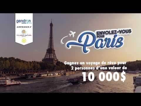 Envolez-vous pour Paris avec Moisson Montréal et Voyages Gendron