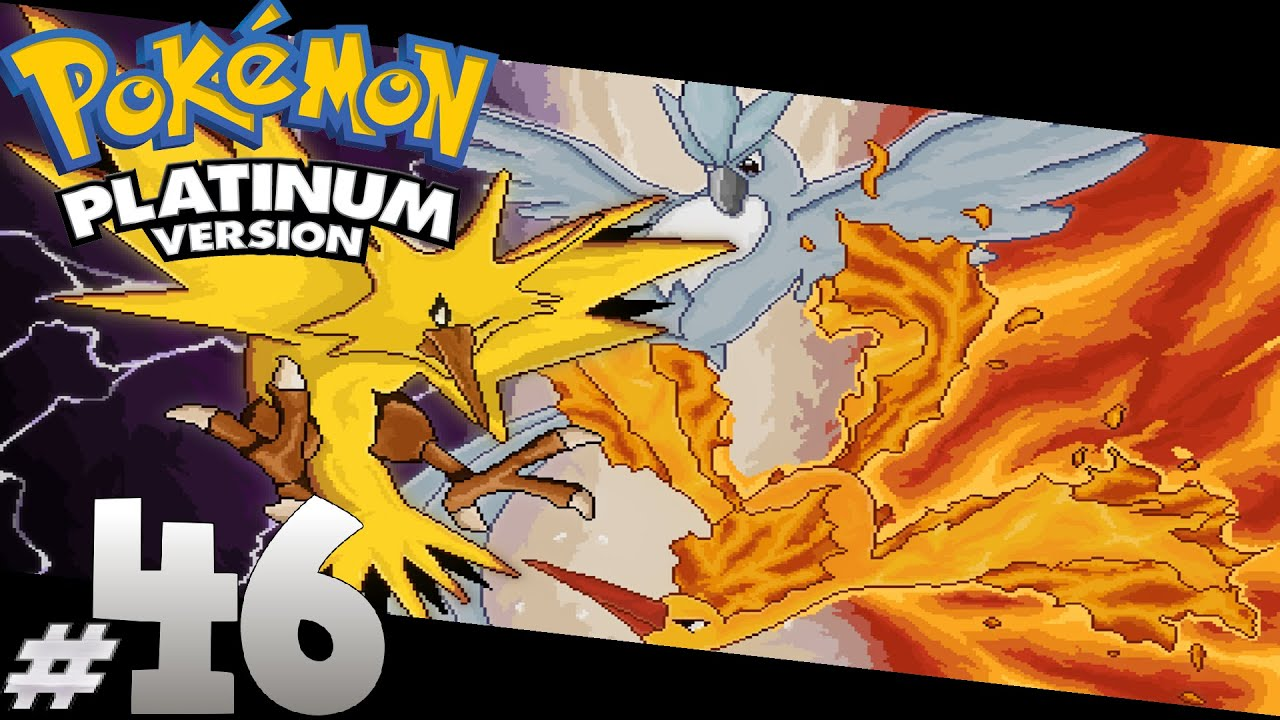 Pokemon: Platinum - Tam Çözüm#46 : Articuno, Zapdos, Moltres