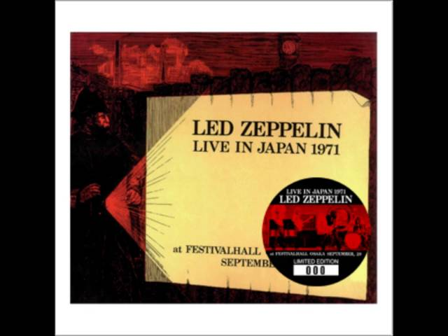 Led Zeppelin - Live In Japan 1971 (No Label) | cinnamon の音楽