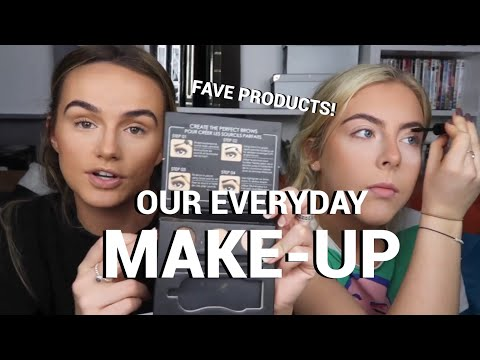 OUR EVERYDAY MAKE-UP ROUTINES | UPDATED! TALK THROUGH | SYD AND ELL