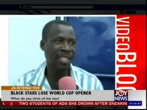 Black Stars Lose World Cup Opener - Joy News Interactive (17-6-14)
