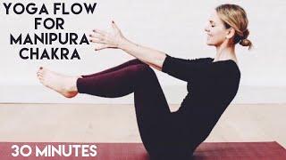 YOGA FLOW CORE ABS MANIPURA CHAKRA / 30 min