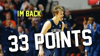 Mac Mcclung Full Highlights 12.4.19 Georgetown vs OSU - 33 Points, He's Back!