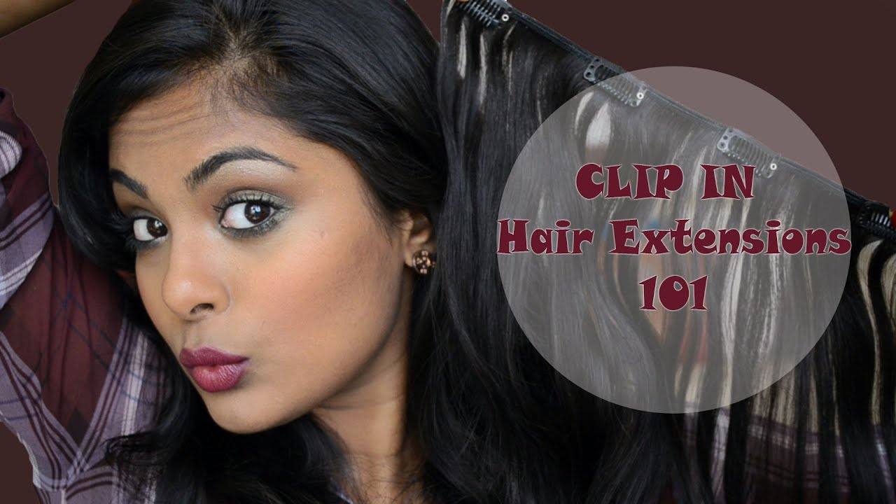 Clip In Hair Extensions 100 Human Hair Indian From Abhair