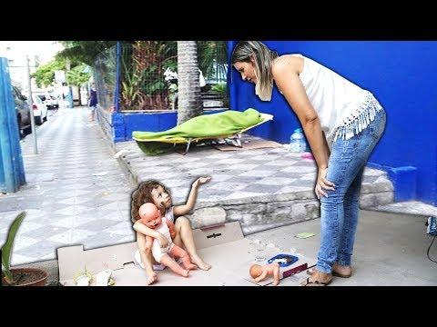 Menina Abandonada e a irmã Catarina - COMPLETO