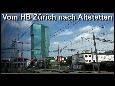 Vom HB Zürich nach Altstetten