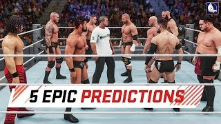 5 Epic Predictions for WWE Survivor Series 2017 (WWE 2K18)