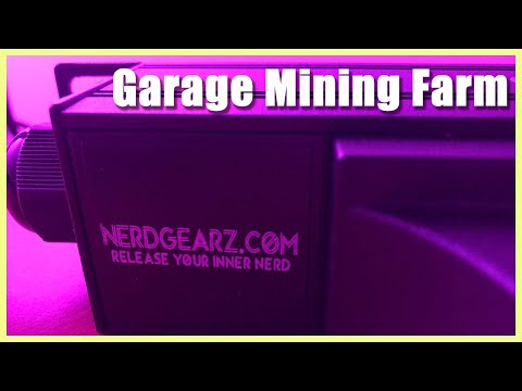 How To Build A Garage Crypto Mining Farm | Cryptocurrency | GPU Mining