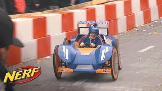 NERF France - NERF Nitro explose la Course Red Bull caisse à savon !