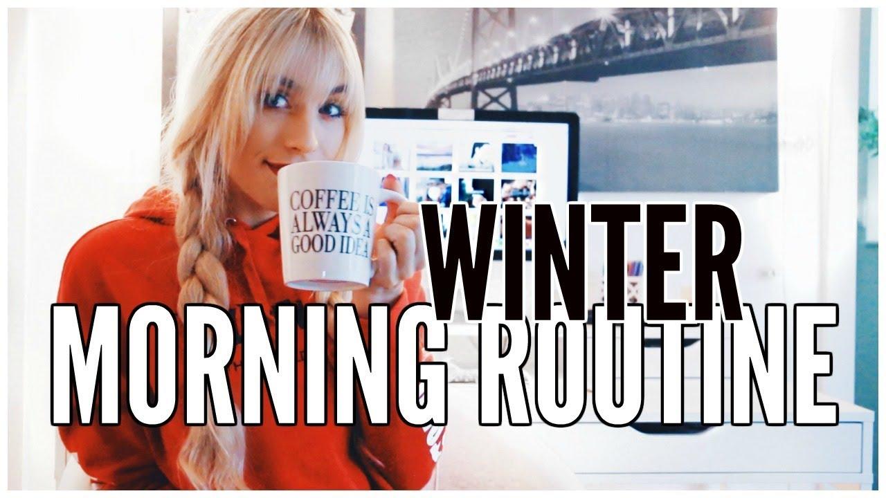 winter-morning-routine-kalyn-nicholson
