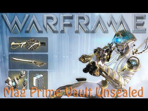 Warframe - Mag Prime Vault Unsealed