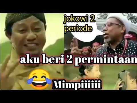 Komedi Lucu Pilpres 2019 Jin Lucu Bikin Ngakak /Komedi Politik Lucu Terbaru.