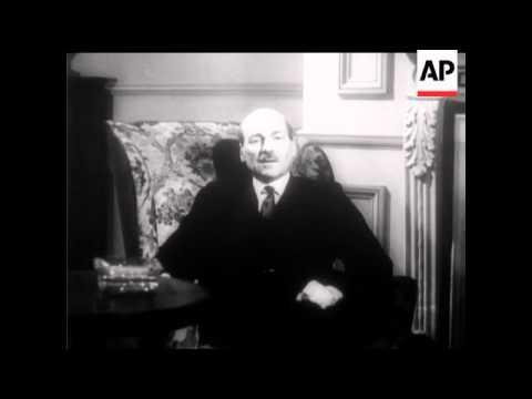 MR CLEMENT ATTLEE - AN INTERVIEW - 1950