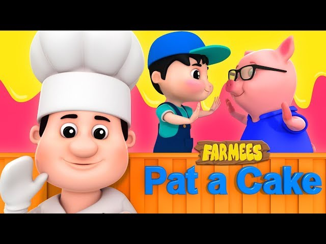 Pat A Cake | Kindergarten Songs And Videos For Children