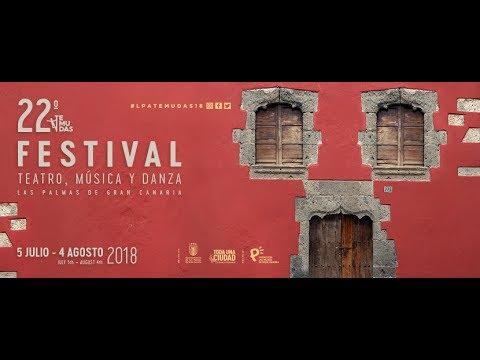 SPOT  22 TEMUDAS. FESTIVAL DE TEATRO, MÚSICA Y DANZA DE LAS PALMAS DE GRAN CANARIA 2018.