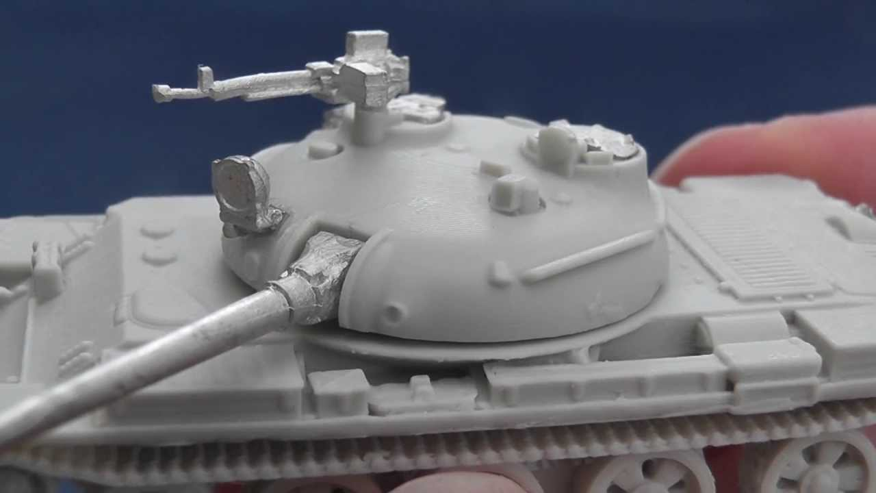 Khurasan Miniatures' 15mm T-62, T-55 and Chinese Type 59 tanks: a video  review