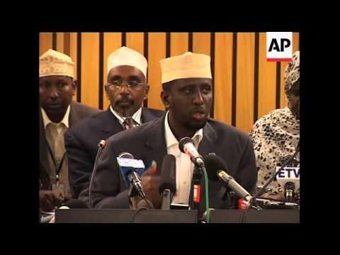 Closing of AU summit, Somalia president