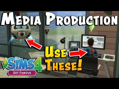 The Sims 4 Media Production Guide (New Skill in Get Famous)