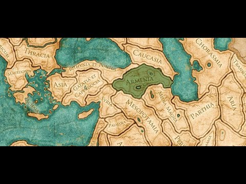 Total War: ROME II - Empire Divided (DLC). Легенда. Играем за Армению. # 1