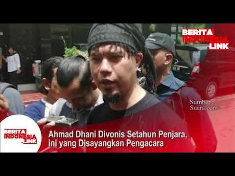 Ahmad Dhani divonis 1 tahun penjara, sangat disayangkan Pengacara.
