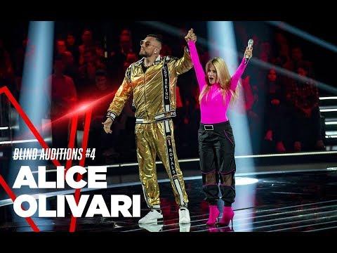 """Alice Olivari  """"Rolls Royce"""" - Blind Auditions #4 - TVOI 2019"""