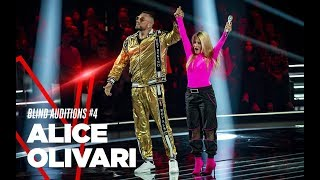 "Alice Olivari  ""Rolls Royce\"" - Blind Auditions #4 - TVOI 2019"